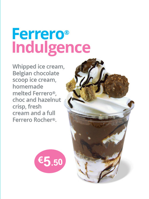ferrero rocher ice cream