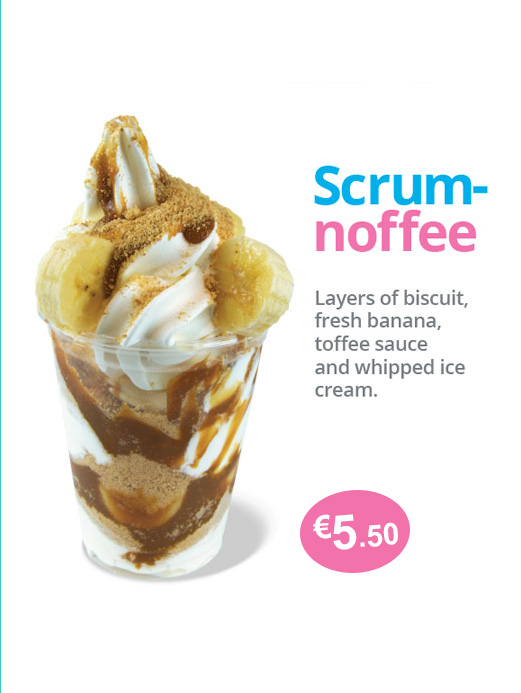 ice cream toffee